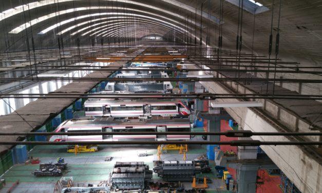 Comienza el curso ferroviario de Supervisor/a de Sección de Fabricación y Mantenimiento