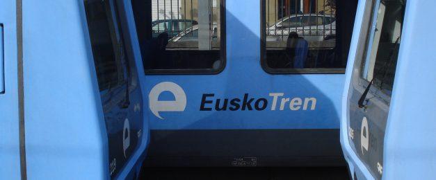 Huelga en Euskotren el 9 de noviembre para exigir al Gobierno vasco la aprobación del convenio