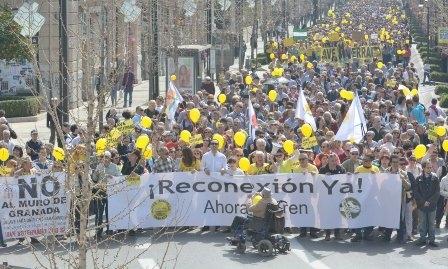 Granada exige el fin del asilamiento ferroviario de la provincia, que dura ya más de 700 días
