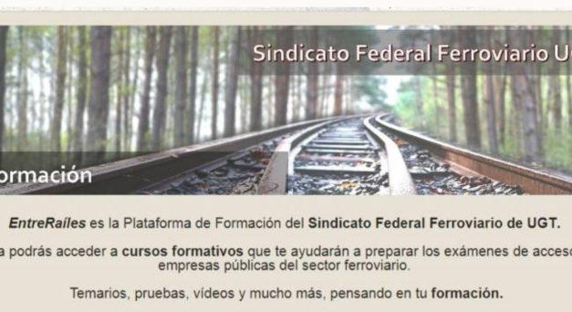 """La plataforma """"EntreRaíles"""" ultima los cursos para las convocatorias de ADIF"""
